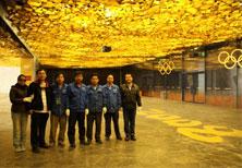 鸟巢金色大厅隔断施工团队